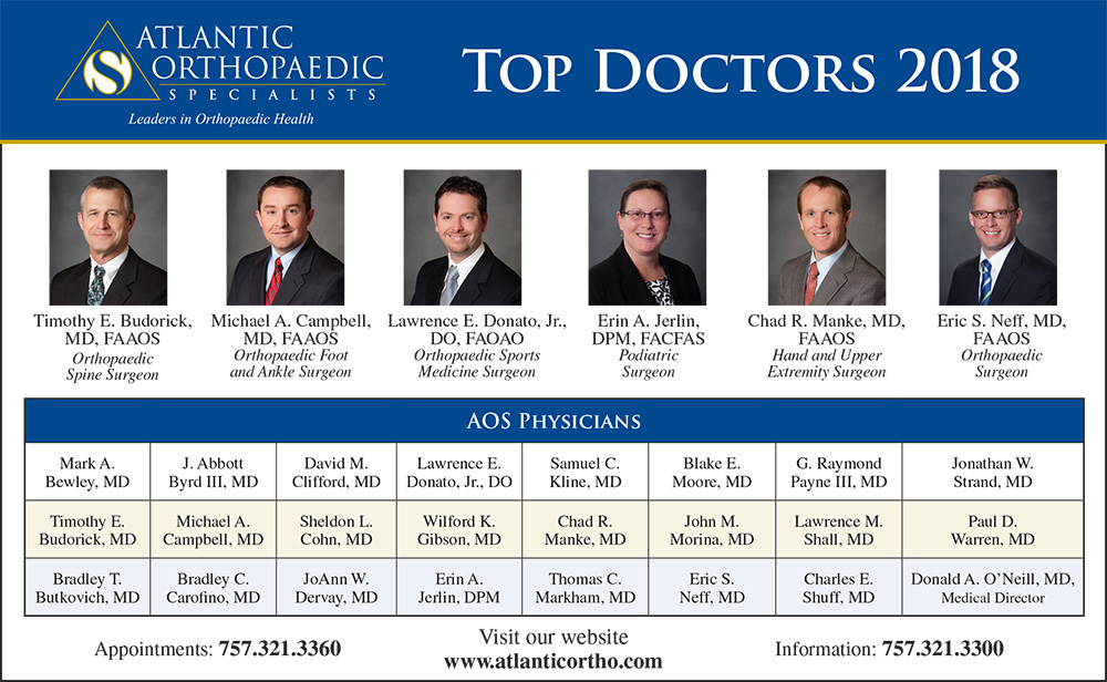 Coastal Virginia Magazine Top Docs Grid