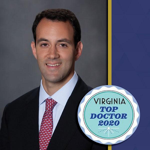 Dr. Carofino AOS Hand to Shoulder Surgeon Top Doctor 2020